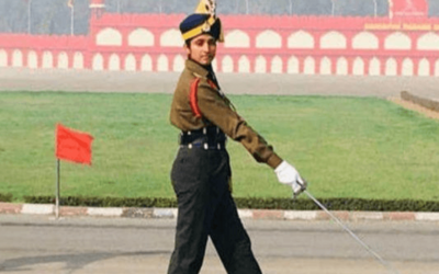 Bhavana Kasturi, 1st Woman To Lead Male Contingent At The 71st Army Day Parade