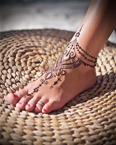 Henna Designs For Feet