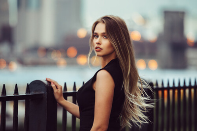 Long Blonde Hairstyle